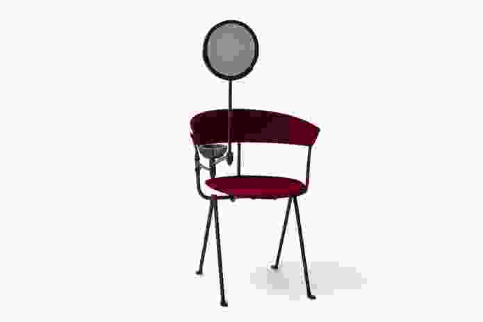 The Officina chair reinvented by Elke Kramer (Studio Elke) for Chairity Project 2016.