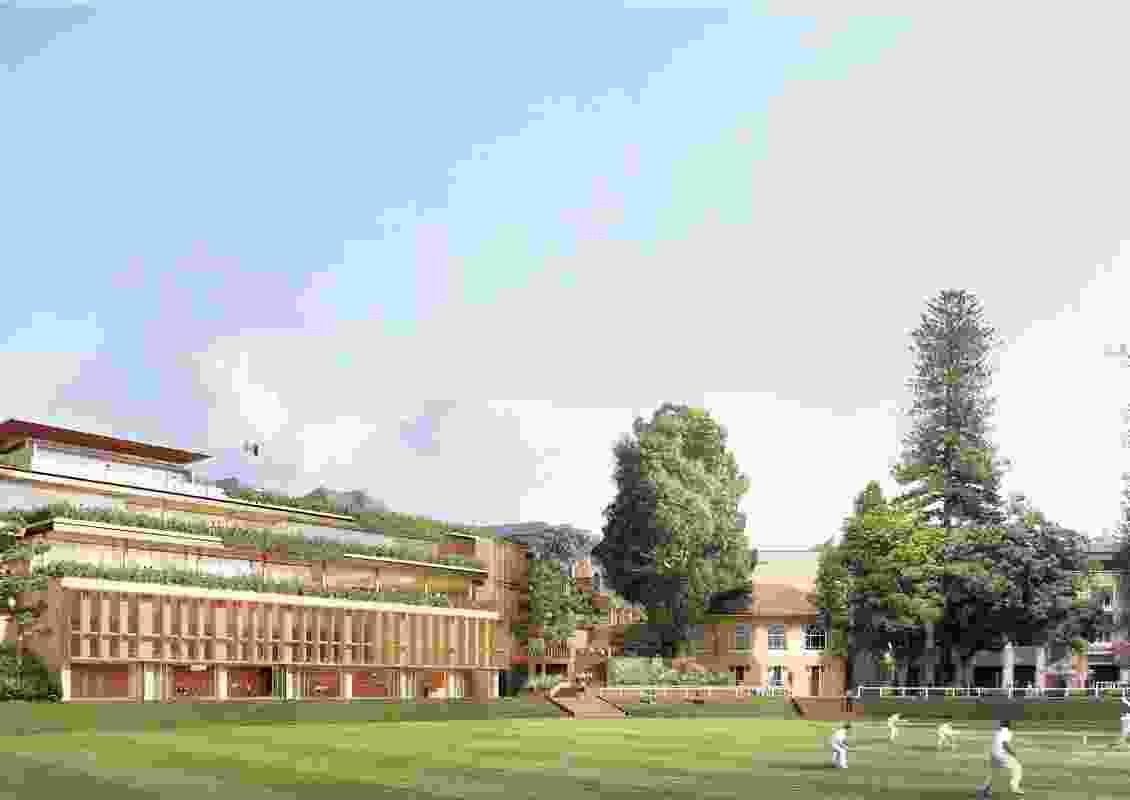 The Cranbrook School Hordern Oval precinct by Architectus.
