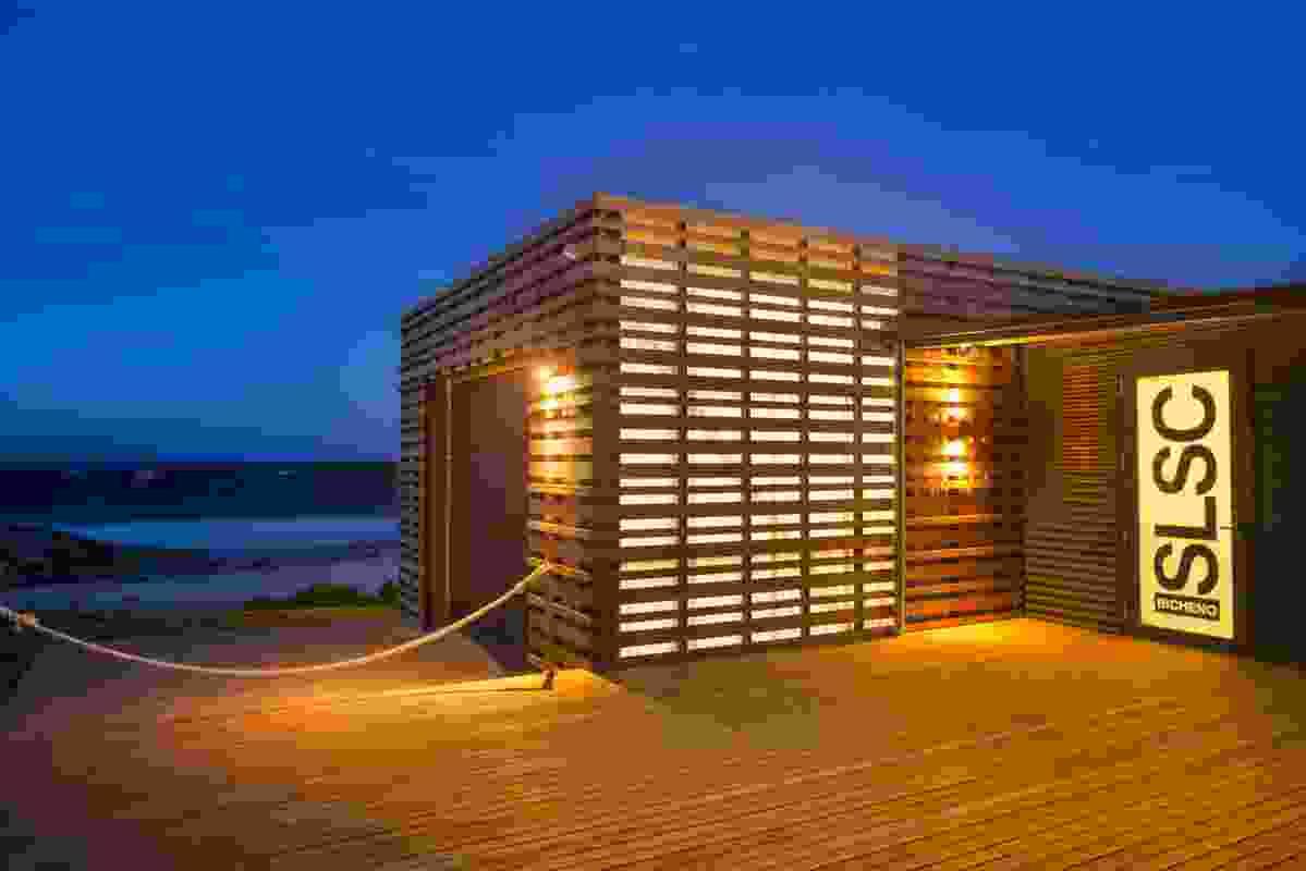 Bicheno Surf Life Saving Club + Boathouse (Tas) by Birelli Art + Design + Architecture.
