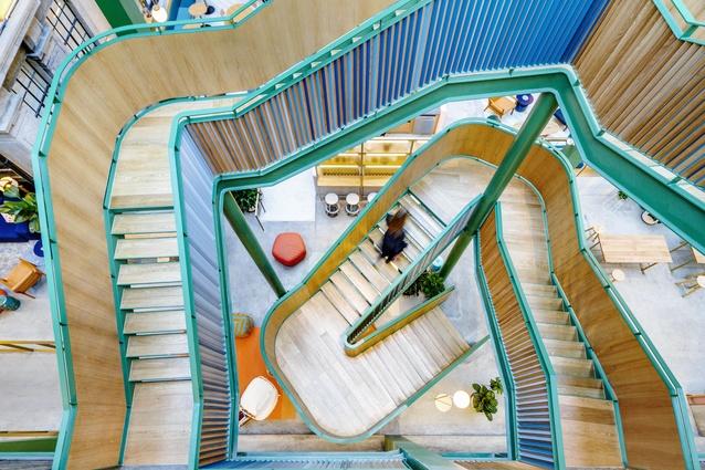 WeWork Weihai Lu by Linehouse Design.