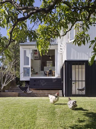 Wilston Garden Room by Vokes and Peters with Owen and Vokes and Peters.