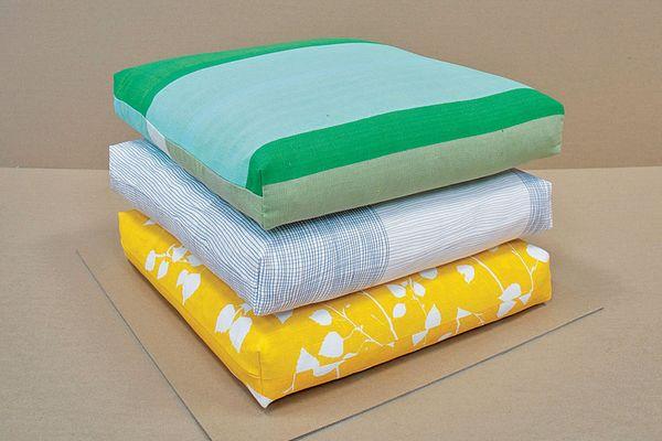 Spacecraft cushions.