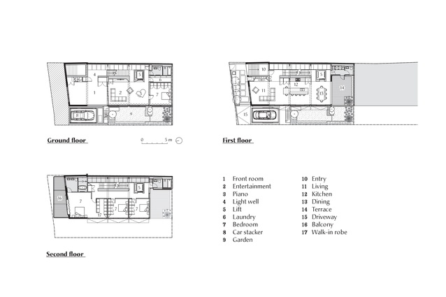 Plans of 102 The Mill by Carter Williamson Architects.
