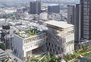 Moreau Kusunoki and Genton's winning design for Powerhouse Parramatta.