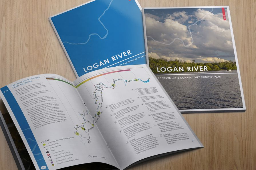 Logan River Accessibility and Connectivity Concept Plan by Tract Consultants and Logan City Council