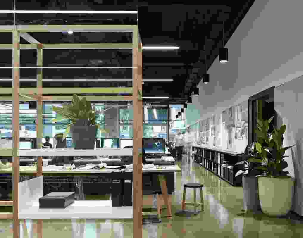 Woods Bagot Brisbane studio by Woods Bagot.