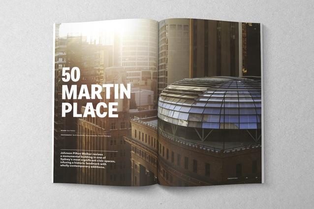 50 Martin Place by Johnson Pilton Walker.