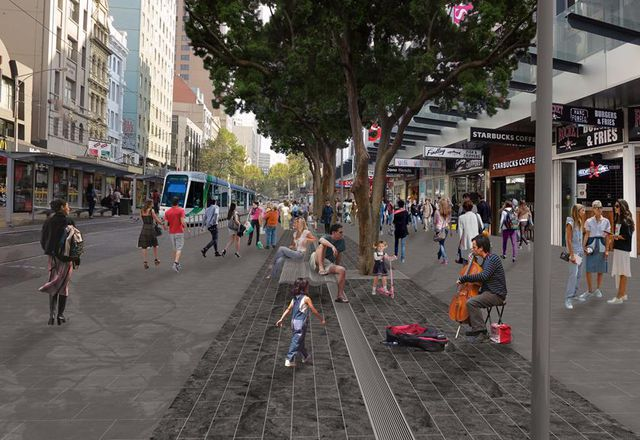 Melbourne CBD street to be pedestrianized