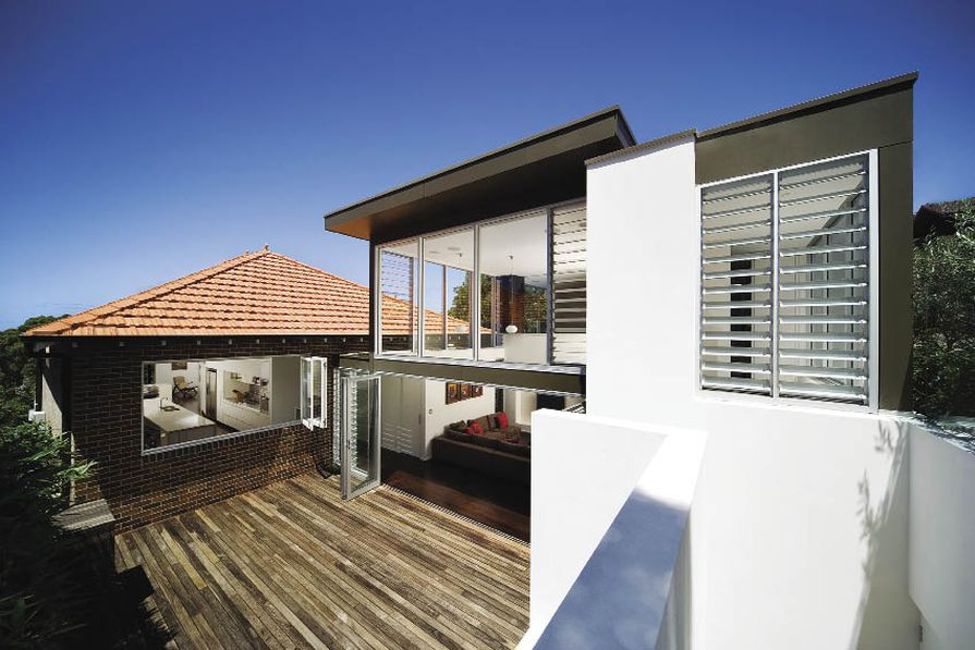 Mosman residence (2006): A clear expression of old and new.