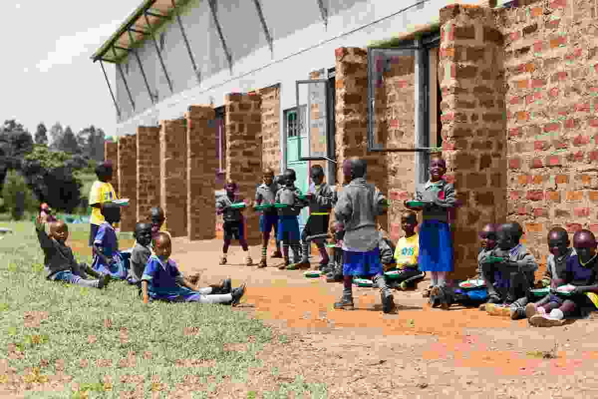 The ClarkeHopkinsClarke-designed One Heart Village in Turbo, Kenya.