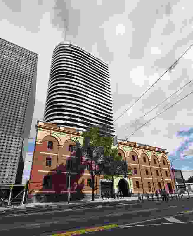 CUB Malt Store, Swanston Square by ARM Architecture and Lovell Chen.