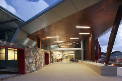Public: Augusta Margaret River Shire Civic and Administration Centre by Bollig Design Group.