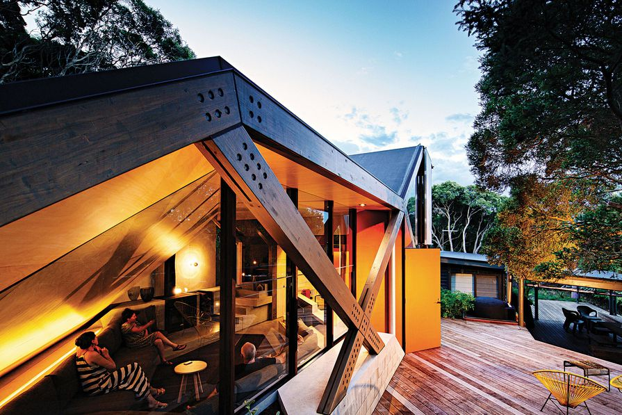 Cabin Two by Maddison Architects.