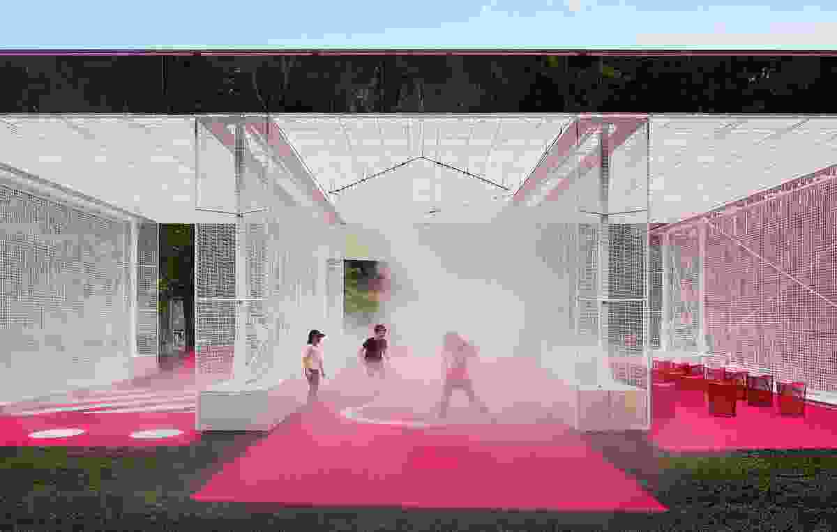 Haven't You Always Wanted...? by M@ Studio Architects for the 2016 NGV Architecture Commission.