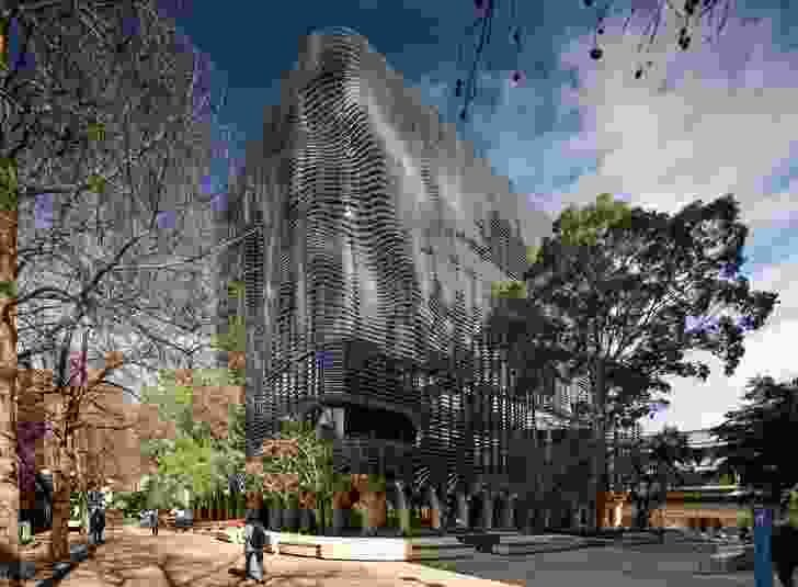 Arts West, University of Melbourne (Vic) by ARM Architecture and Architectus.