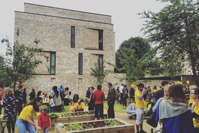 "Celebrating ""Growing Communities"" at Vaudeville Court by Levitt Bernstein as part of the 2015 London Festival of Architecture. Levitt Bernstein explores way of influencing the urban housing model and addressing broader social needs."