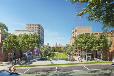 Indicative design of the Channel Nine site redevelopment by Chrofi.
