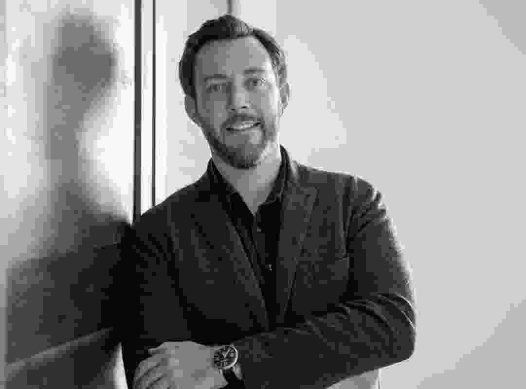 Alan Ricks, founding principal and the chief design officer of MASS Design Group. (Boston, USA).