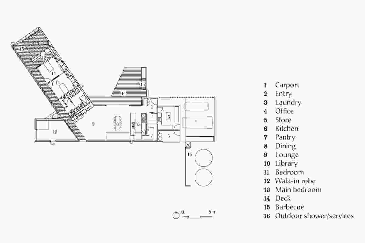 Lagoon House plan.