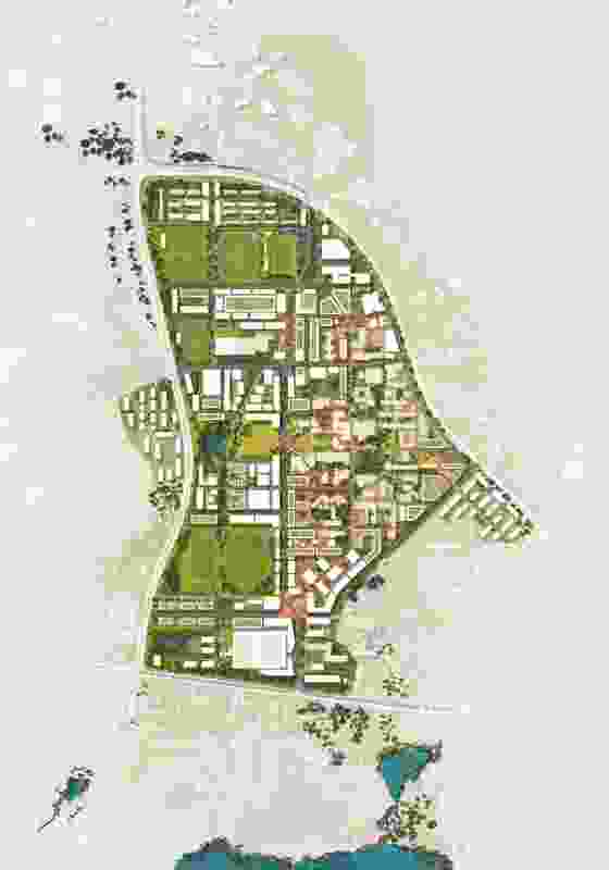 Greater Curtin Master Plan by Aecom.