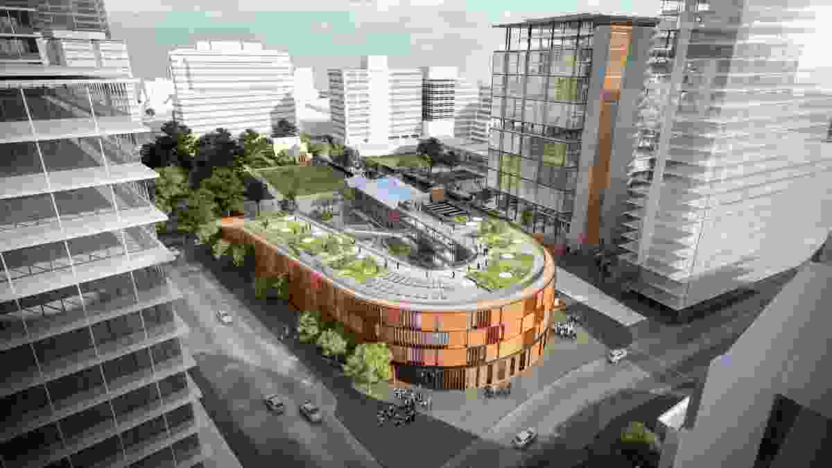 Parramatta Public School by Grimshaw Architects and BVN.