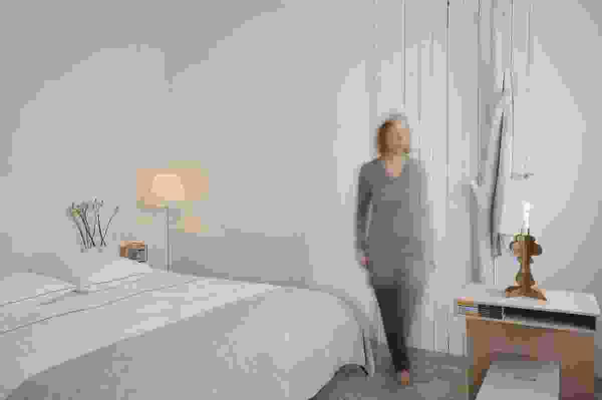 Sofie Lachaert B&B: Bedroom in white.