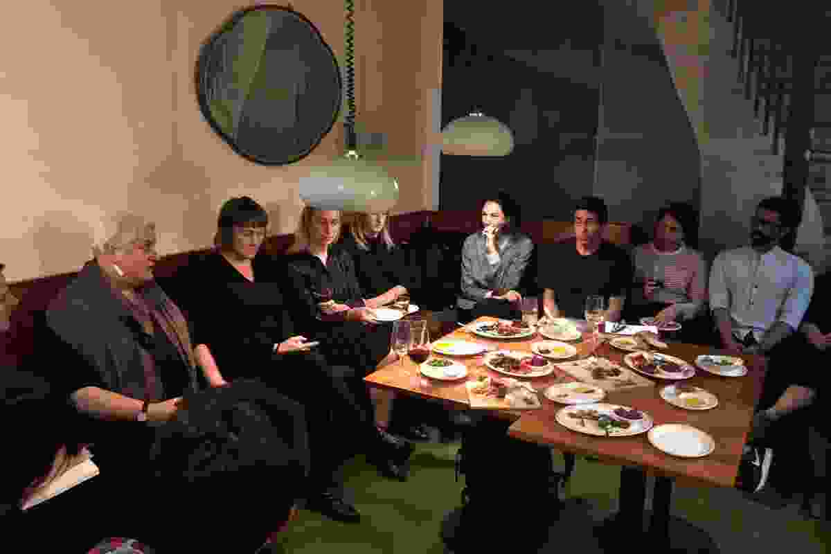 """A """"long table"""" discussion organized by AILA Cultivate, a sub-committee of the Victorian Chapter of AILA, explored some of the issues currently facing landscape architecture education in the state."""