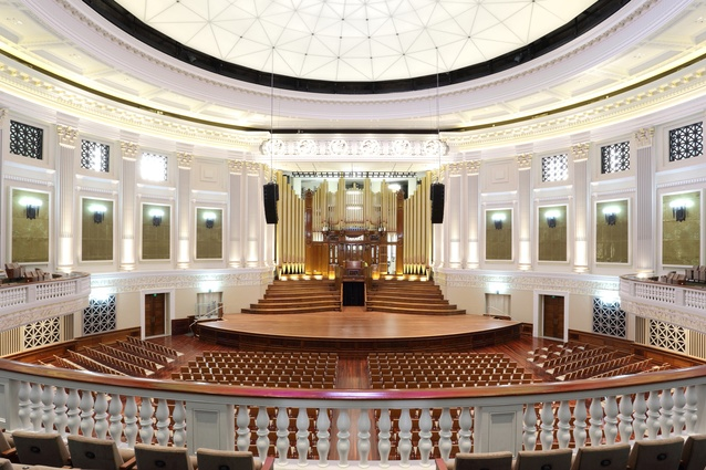 Brisbane City Hall Restoration Project by Tanner Kibble Denton Architects and GHD Architects in Association (TannerGHD).