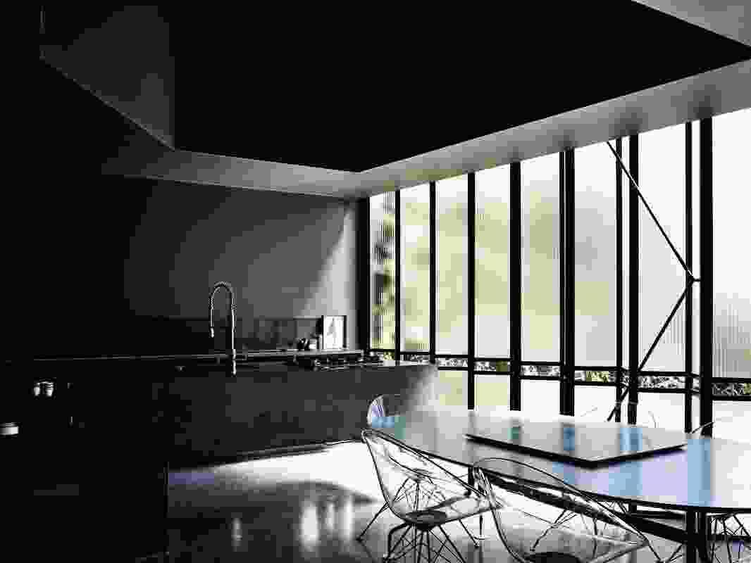Powell Street House by Robert Simeoni Architects.