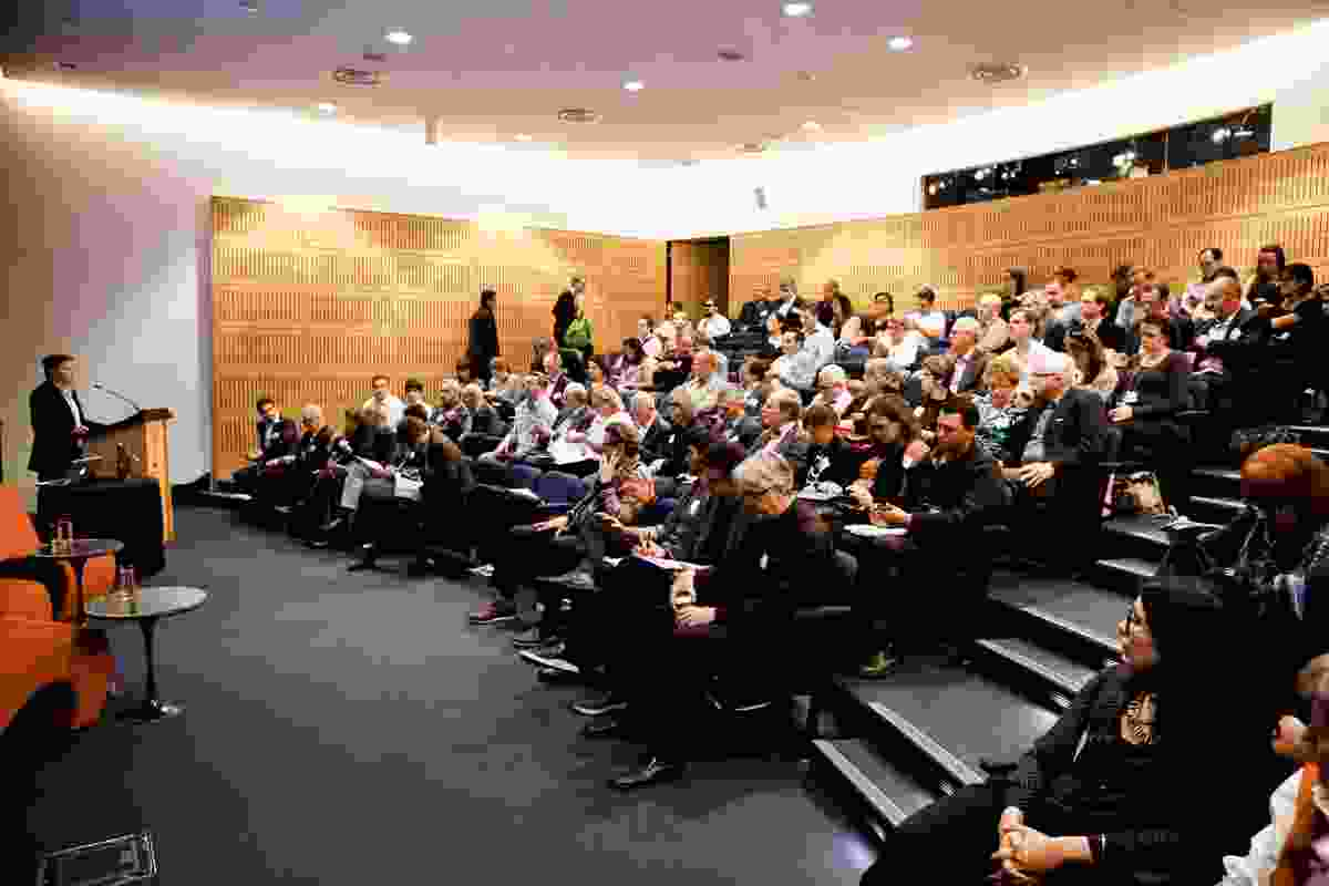 A studious crowd at the 2014 Old School/New School conference in Sydney.