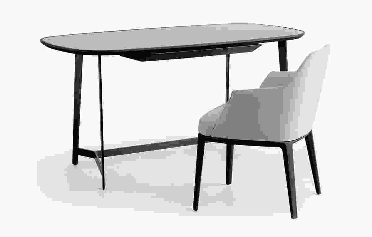 Mathieu writing desk by Emmanuel Gallina for Poliform.