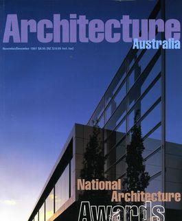 Architecture Australia, November 1997