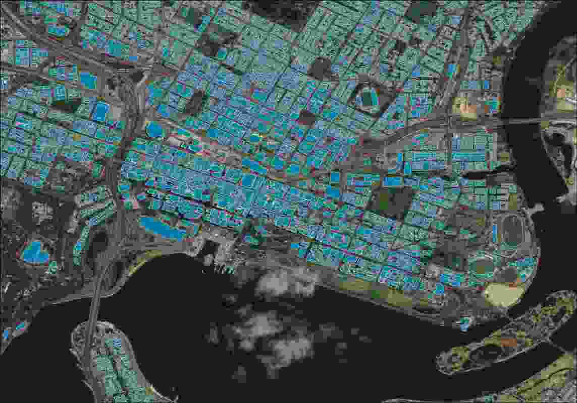 Geoscape data of Perth.