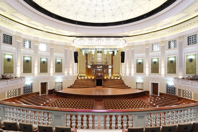 Brisbane City Hall Restoration Project (Qld) by Tanner Kibble Denton Architects and GHD Architects in Association.