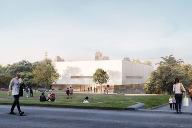 The proposed Chau Chak Wing Museum by Johnson Pilton Walker.