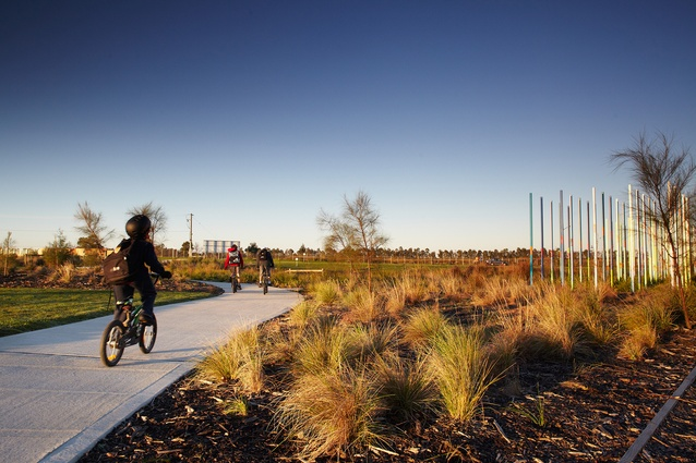 Toomuc Creek by Fitzgerald Frisby Landscape Architecture.
