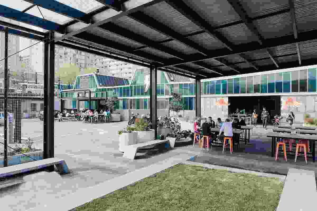 City Works Depot, chosen as the Best Public Space in Urbis' Best of 2013 issue.