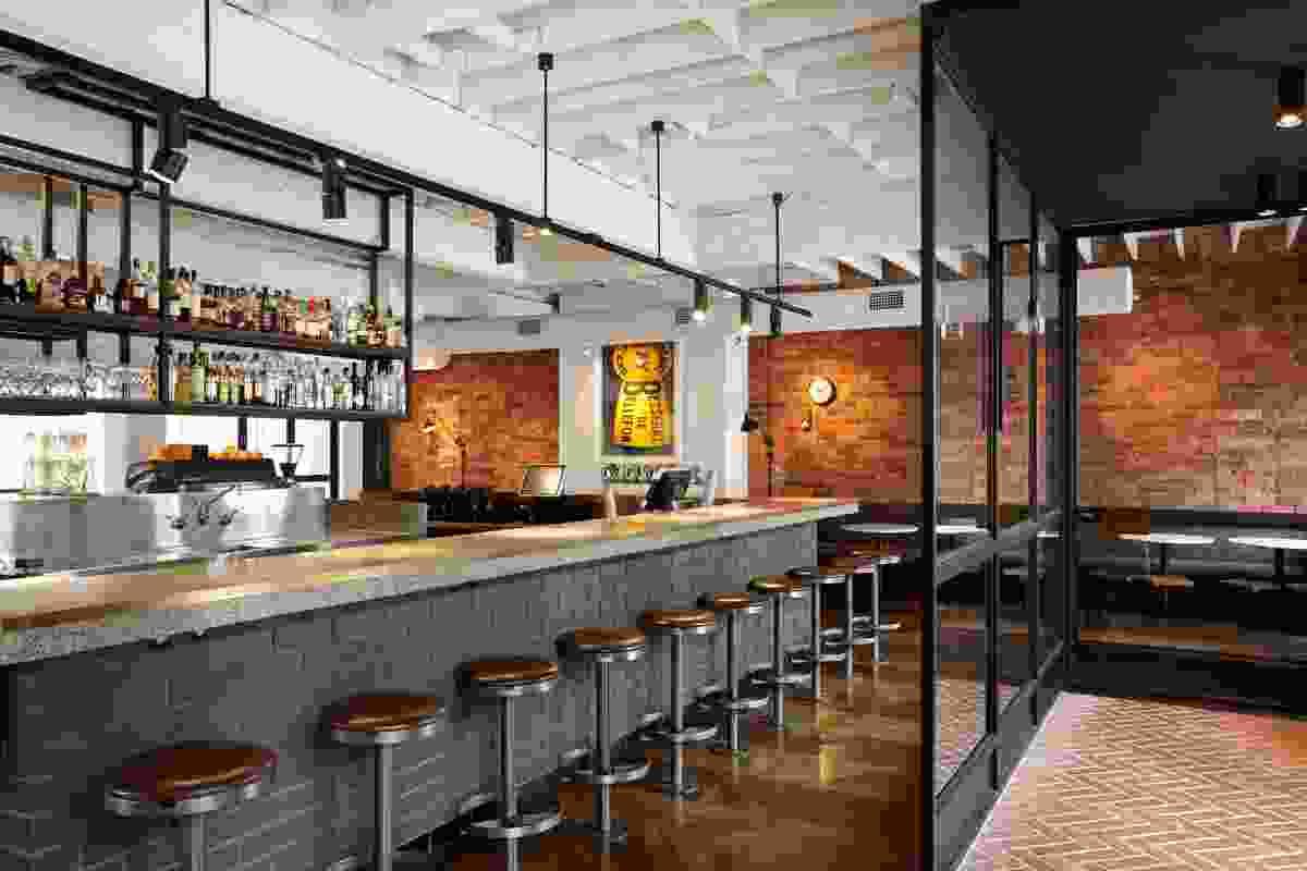 The Smith Restaurant & Bar by GMS Hospitality.