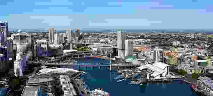 Sydney International Convention, Exhibition and Entertainment Precinct (SICEEP).