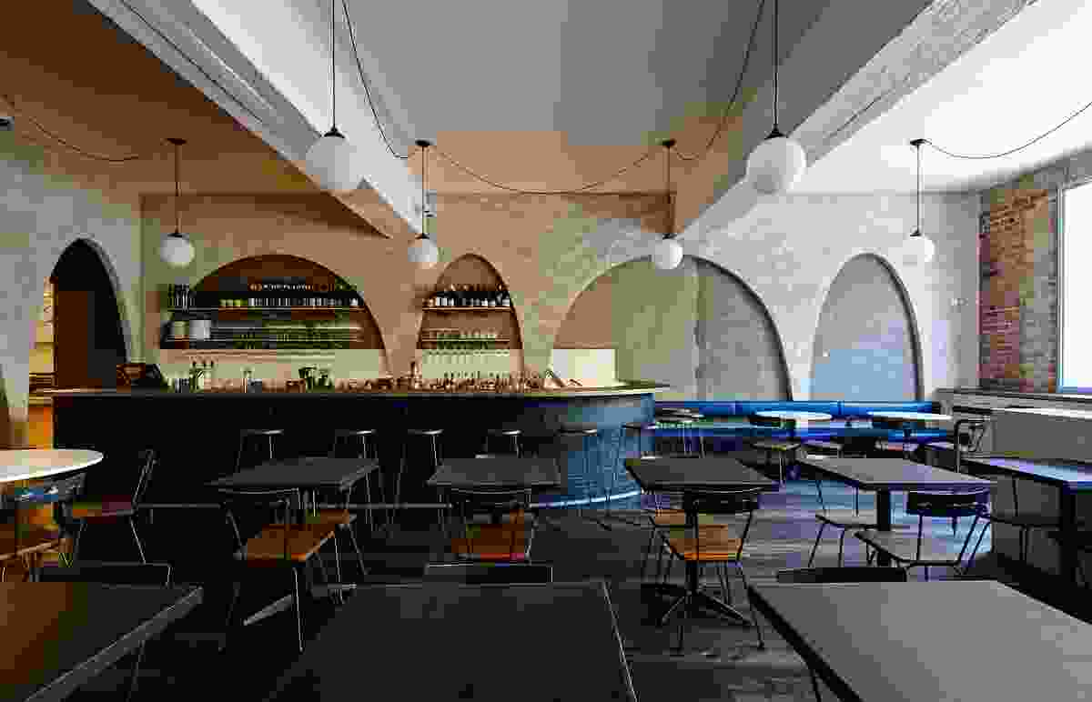 Ester Restaurant and Bar by Anthony Gill Architects.