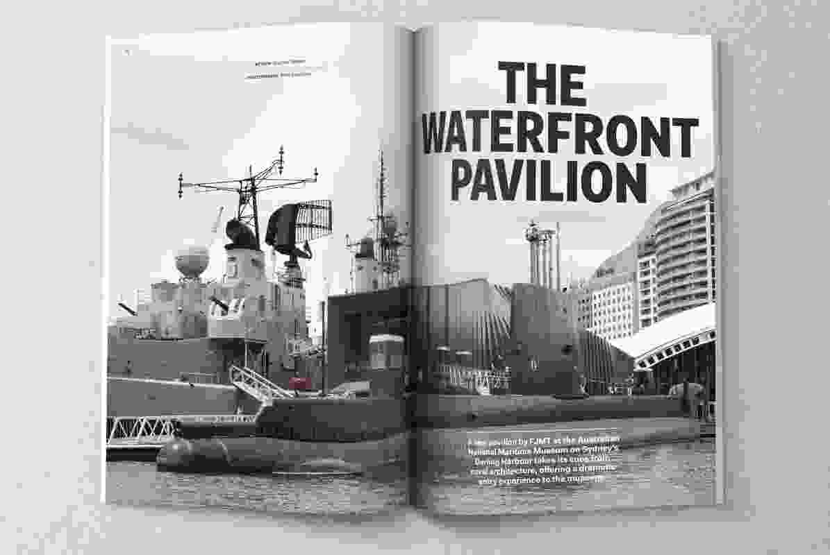 The Waterfront Pavilion by FJMT.