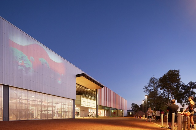 East Pilbara Arts Centre (WA) by Officer Woods Architects.