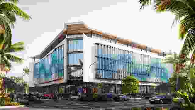 蜂巢第一阶段,大堡礁海洋公园管理局办公室,由康拉德·加吉特设计。