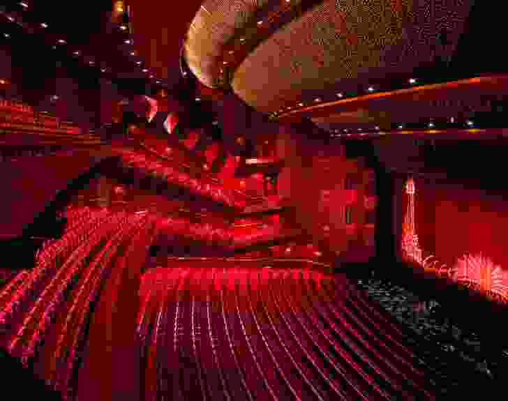 The interior of the State Theatre designed by John Truscott.