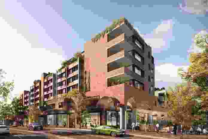 Surry Hills Shopping Village by SJB, Studio Prineas, Aspect Studio and BKH Interiors.