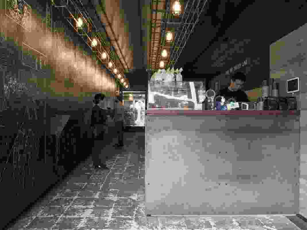 Reformatory Caffeine Laboratory by Louise Nettleton Architects.