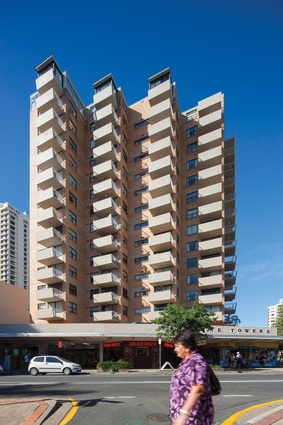 Paradise Towers (1965) by E. G. Nemes, Surfers Paradise.
