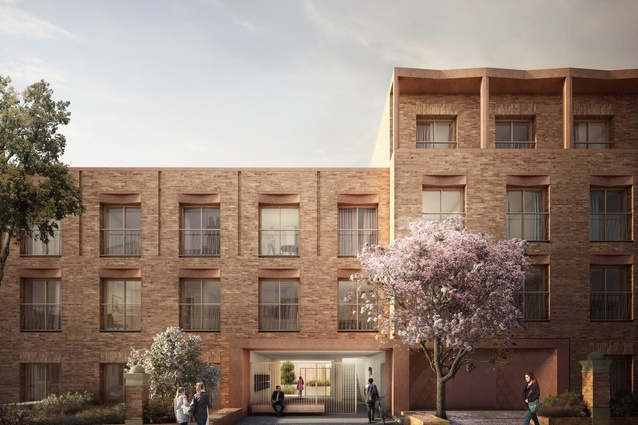 Gainsford Road E17 microhousing development in London by Pocket Living.