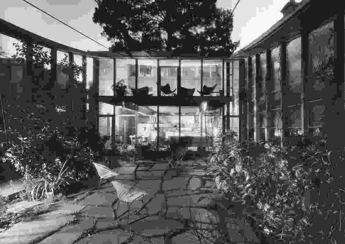 Boyd House, Walsh Street, South Yarra, 1958.