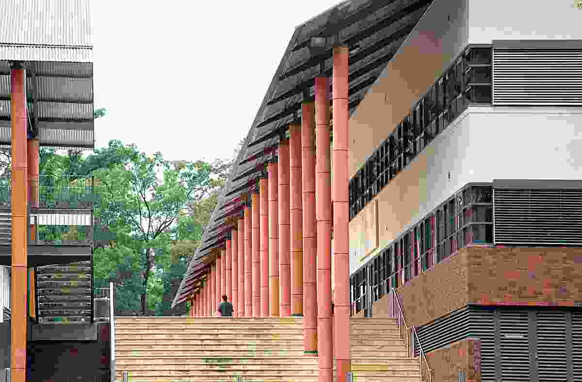 Modelling: The King's School, Parramatta, NSW (2002).